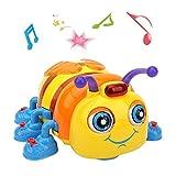 TINOTEEN Juguete Musical para Bebés Gateando y Cantando Juguetes de Abejas