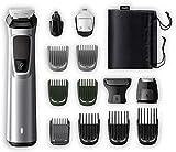 Philips MG7720/15 Recortadora 14 en 1 Maquina recortadora de barba y Cortapelos para hombre, óptima precisión,...