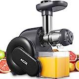 Licuadora Prensado en Frio, Aicok Licuadoras Para Verduras y Frutas con Función inversa, con Motor Silencioso, Limpieza...