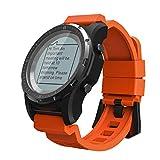 FFHJHJ Reloj Inteligente SmartWatch Deporte con Monitor de Ritmo cardíaco del GPSaltitudReloj Inteligente...