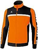 erima Sportsjacke 5-Cubes - Sudadera de fútbol para Hombre, Color Naranja, Talla XL