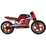 KIDDIMOTO- Marc Marquez 93 Superbike Hero 2019 Impulsor / bicis sin Pedales / Bici sin Pedales niño 2 años
