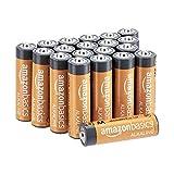 Amazon Basics - Pilas alcalinas AA de 1,5 voltios, gama Performance, paquete de 20 (el aspecto puede variar)