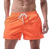 LILICAT Bañadores de Natación Hombre, Pantalones Corto de Playa de Secado Rápido, Pantalones Cortos Boxers Deportivos...