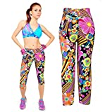 Sannysis Pantalones Mujer Deporte Yoga Pantalones Mallas para Mujer (Naranja, S)