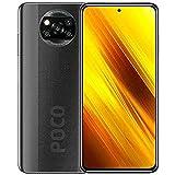 "POCO X3 NFC - Smartphone 6.67"" FHD+, 6 + 128GB, Snapdragon 732G, 64 MP con IA, Quad-cámara, 5160 mAh, color Gris..."
