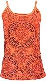 Yoga Top Mandala Naranja / Tops y camisetas, naranja 38