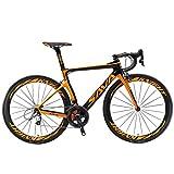 SAVADECK Phantom 2.0 700C Bicicleta de Carretera de Fibra de Carbono Shimano Ultegra R8000 22-Velocidad Sistema Michelin...
