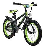 BIKESTAR Bicicleta Infantil para niños y niñas a Partir de 4 años | Bici de montaña 16 Pulgadas con Frenos | 16'...