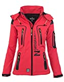 Geographical Norway-Chaqueta multifunción softshell impermeable para mujer Corail X-Large