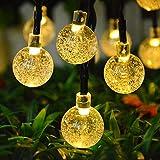 Topeedy Luces de cadena 6 M con 40 bombillas LED,Luces decorativas con pilas a prueba de agua para el dormitorio, al...