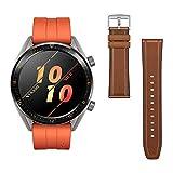 Huawei Watch GT Active - Reloj Inteligente, Naranja, 46 mm, Reloj+Correa