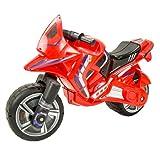 INJUSA - Moto Correpasillos Hawk Color Rojo para Niños de más de 3 Años con Ruedas Anchas y Asa para Transporte