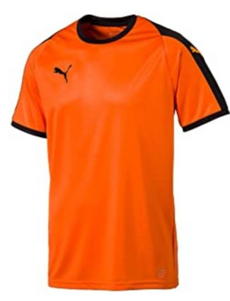 Camisetas de color naranja