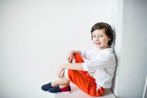 pantalones naranjas