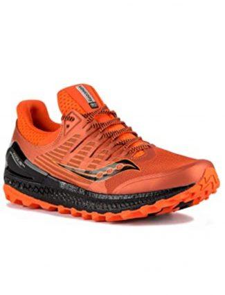 zapatillas de naranja